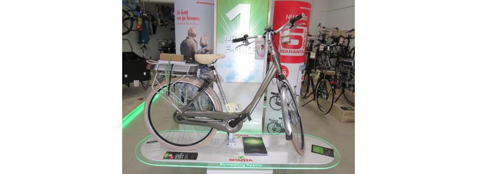 Gespecialiseerd in E-Bikes.
